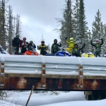 Saratoga Hot Springs Resort - Snowmobiling Adventures