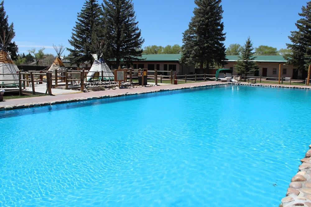 Mineral Hot Springs At Saratoga Hot Springs Resort Wyoming