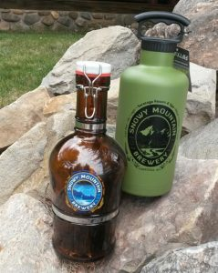 Snowy Mountain Brewery Growlers
