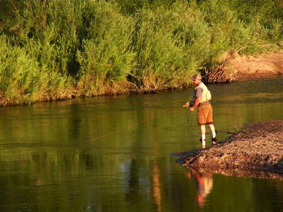 Laramie Fishing, Saratoga Resort