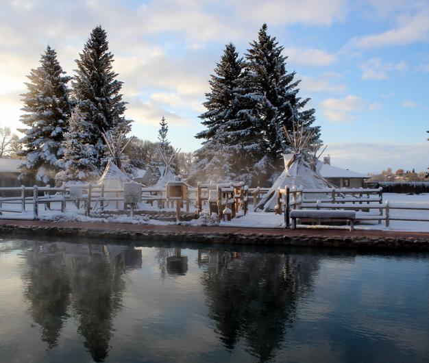 Saratoga Resort in Winter, SRAS