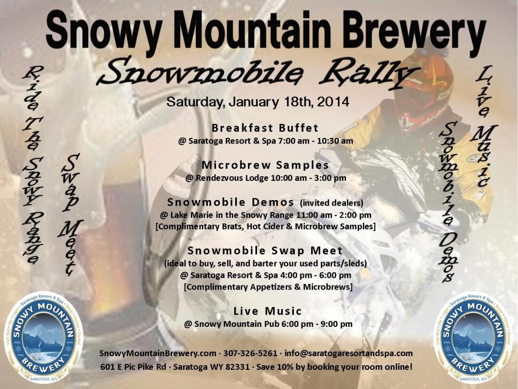 Snow Rally Poster