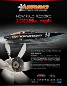 Snowy Mountain Brewery Team Sets SV Single Kilo Record