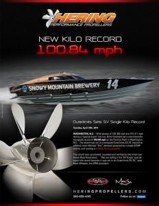 Snowy Mountain Brewery Team Sets SV Single Kilo Record