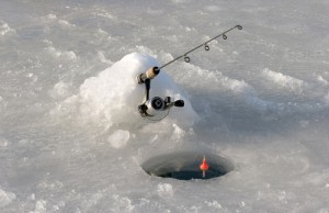 Coming Up Next... Saratoga Lake Ice Fishing Derby