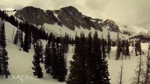 The Best Snowmobiling — Snowy Mountain Range, Wyoming