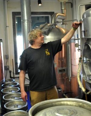 Steve Simpson — Snowy Mountain Brewery Brewmaster at Saratoga Resort and Spa in Wyoming