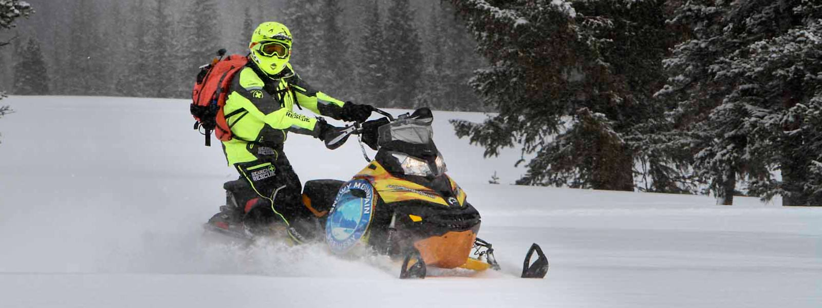 Snowmobiling at Saratoga Resort and Spa