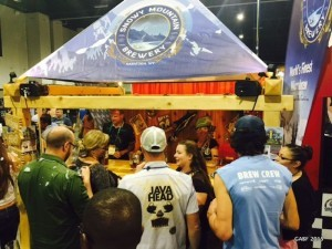 Snowy Mountain Brewery at the 34th Annual Great American Beer Festival