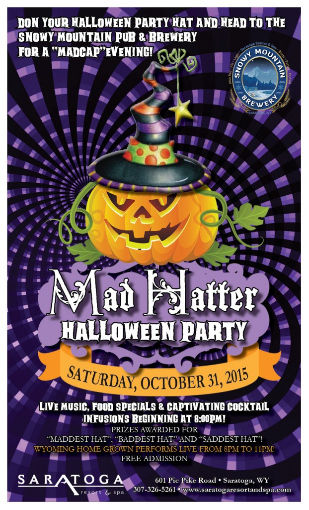 Mad Hatter Halloween Party