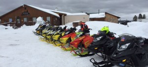 Speed on the Water Covers North Atlantic Powerboat Association Snowmobile Poker Run and Rally