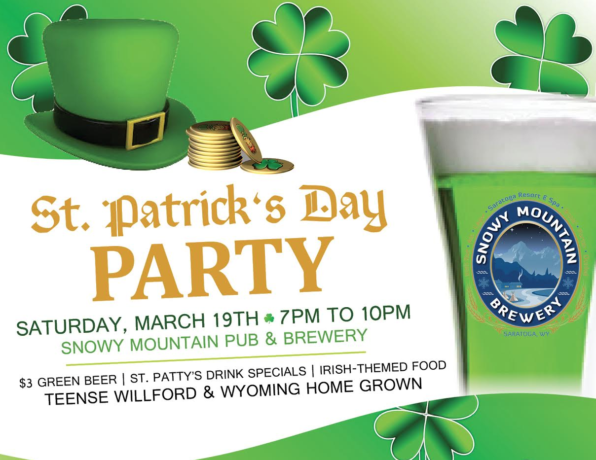 St Patrick's Day Party at Snowy Mountain Brewery