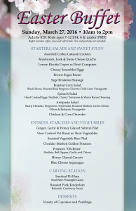 Celebrate at Saratoga Resort and Spa with a Delicious Easter Buffet