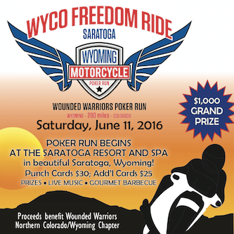 WYCO Freedom Ride: Wounded Warrior Poker Run