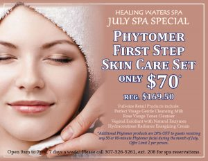 July 2016 Healing Waters Spa Special