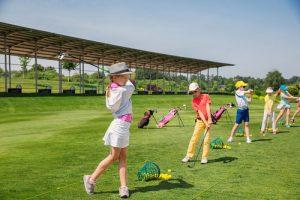 Saratoga Hosts: Junior Golf Lessons & Tournament