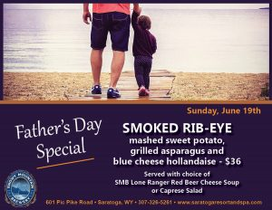 Saratoga Resort and Spa Hosts a Father's Day Special