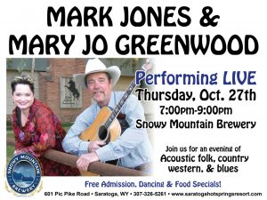Mark Jones and Mary Jo Greenwood Performing Live
