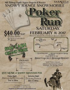Snowy Range Snowmobile Poker Run 2 Night Stay Deal