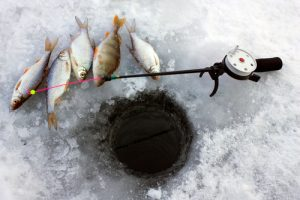 Saratoga Lake Ice Fishing Derby 2017