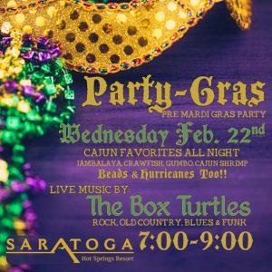 Mardi Gras Party Saratoga Wyoming