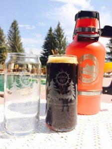 Snowy Mountain Brewery's Eclipse Black