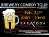 Brewery Comedy Tour | Feb 22