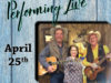 Mark Jones & Mary Jo Greenwood Performing Live | April 25
