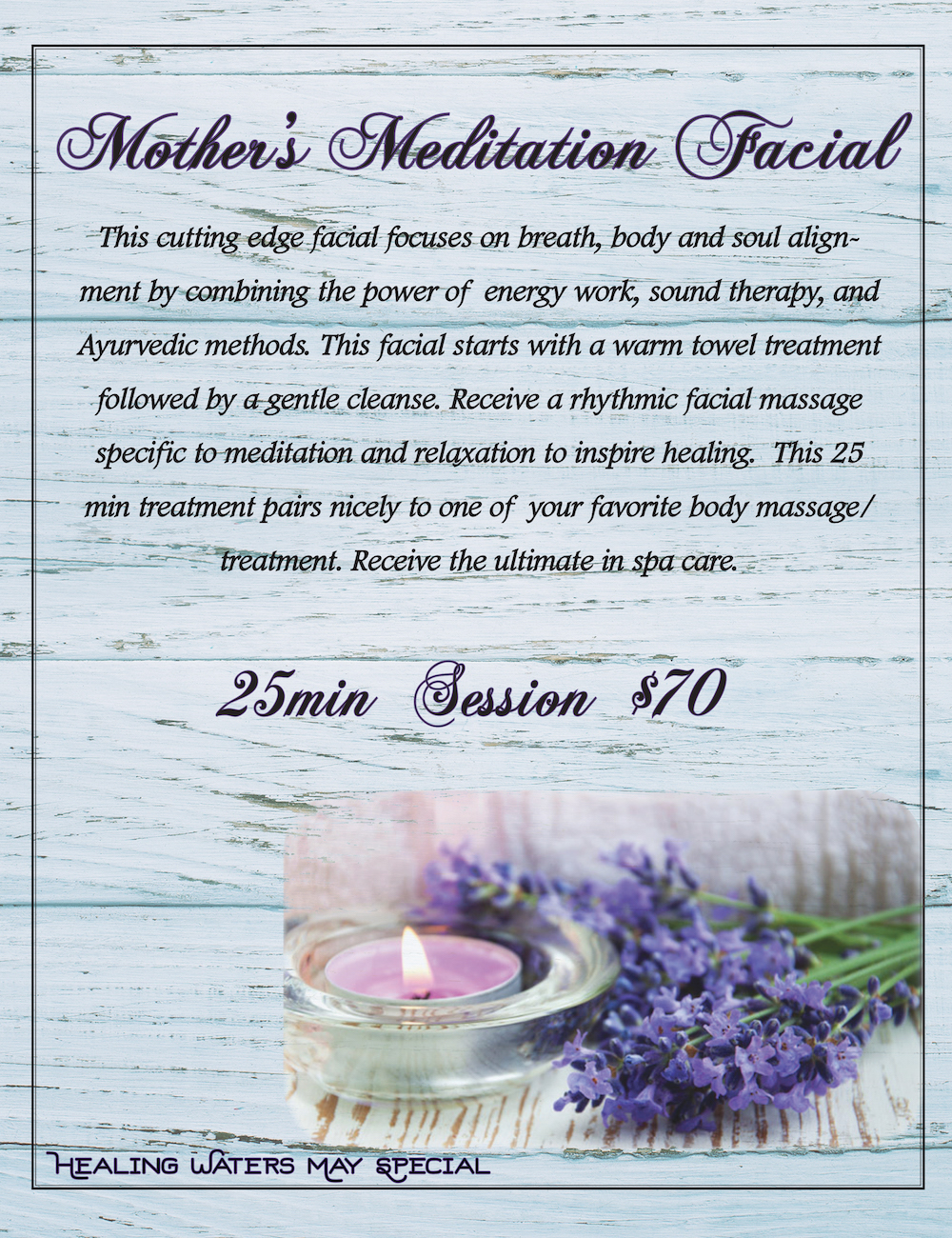 May Facial Special That Mom Will Love!