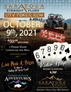 UTV Poker Run Event