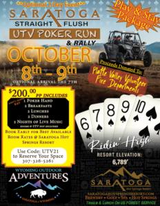 UTV Poker Run and Rally